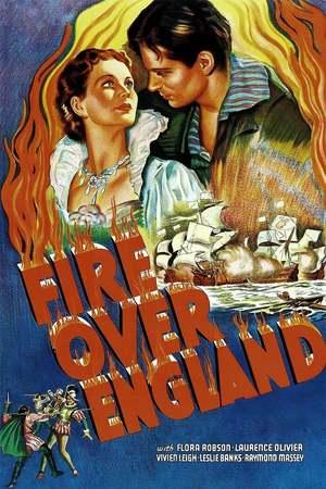 Poster: Feuer über England