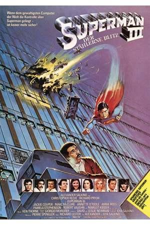 Poster: Superman III - Der stählerne Blitz