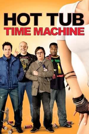 Poster: Hot Tub - Der Whirlpool... ist 'ne verdammte Zeitmaschine!