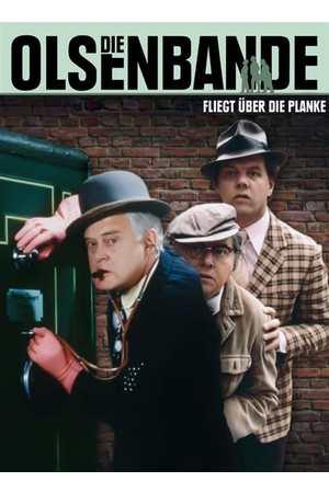 Poster: Die Olsenbande fliegt über die Planke