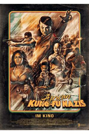 Poster: African Kung-Fu Nazis
