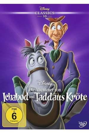 Poster: Die Abenteuer von Ichabod und Taddäus Kröte