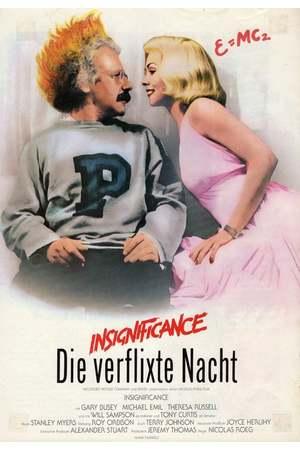 Poster: Insignificance - Die verflixte Nacht