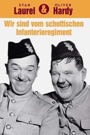 Poster: Dick und Doof - Wir sind vom schottischen Infanterie-Regiment