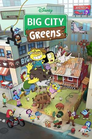 Poster: Big City Greens