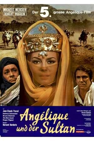 Poster: Angélique und der Sultan