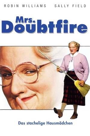 Poster: Mrs. Doubtfire - Das stachelige Hausmädchen