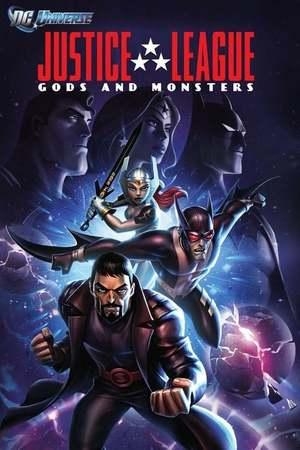 Poster: Justice League: Götter und Monster