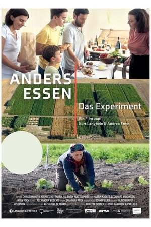 Poster: Anders essen - das Experiment