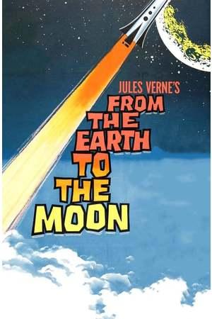 Poster: Von der Erde zum Mond