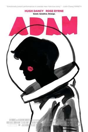 Poster: Adam - Eine Geschichte über zwei Fremde. Einer etwas merkwürdiger als der Andere