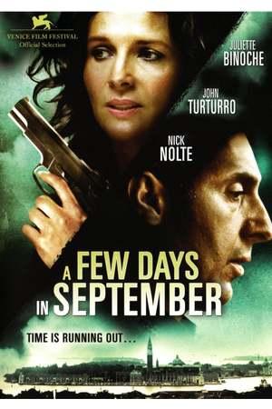 Poster: A Few Days in September - Die Zeit läuft aus...