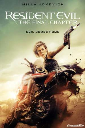 Poster: Resident Evil: The Final Chapter