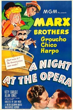 Poster: Die Marx Brothers in der Oper