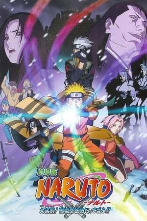 Poster: Naruto - The Movie - Geheimmission im Land des ewigen Schnees