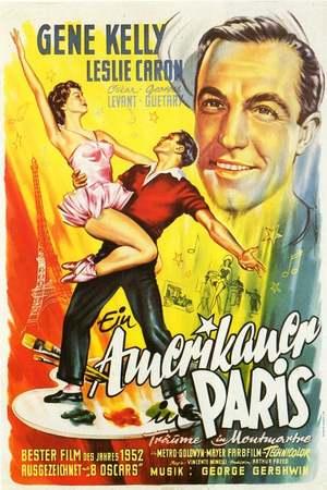 Poster: Ein Amerikaner in Paris