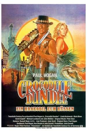 Poster: Crocodile Dundee - Ein Krokodil zum Küssen