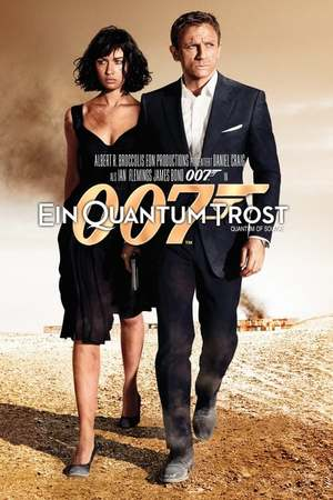 Poster: James Bond 007 - Ein Quantum Trost