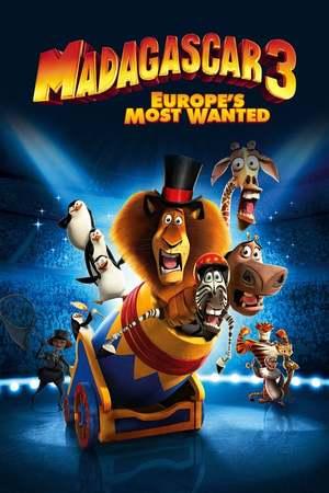 Poster: Madagascar 3 - Flucht durch Europa
