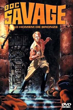 Poster: Doc Savage: Der Mann aus Bronze