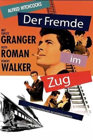 Poster: Der Fremde im Zug