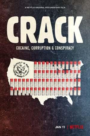 Poster: Crack: Kokain, Korruption und Konspiration