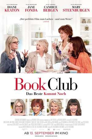 Poster: Book Club - Das Beste kommt noch