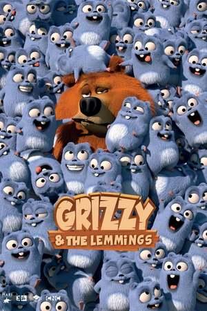 Poster: Grizzy und die Lemminge