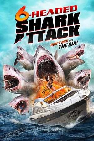Poster: 6-Headed Shark Attack