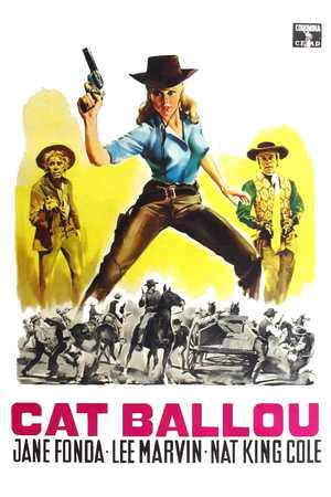 Poster: Cat Ballou - Hängen sollst du in Wyoming