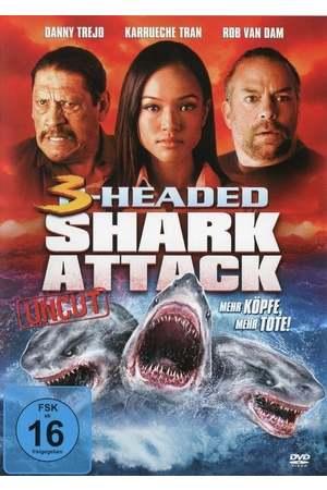 Poster: 3-Headed Shark Attack