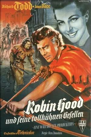 Poster: Robin Hood und seine tollkühnen Gesellen