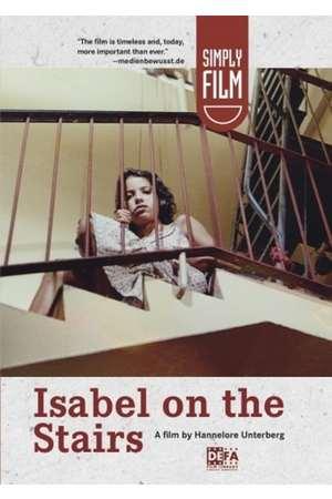 Poster: Isabel auf der Treppe
