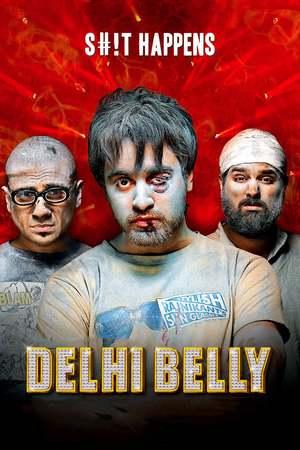 Poster: Delhi Belly - Das Chaos-Trio
