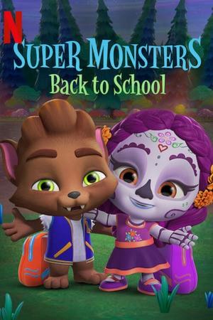 Poster: Schulanfang für die Supermonster