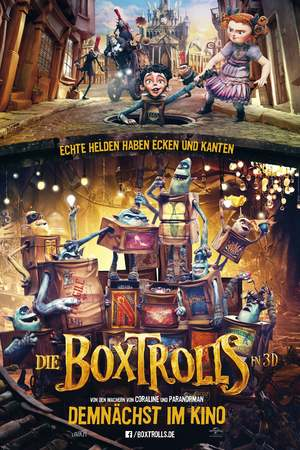 Poster: Die Boxtrolls