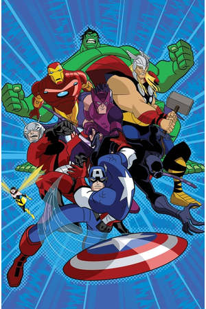 Poster: Die Avengers - Die mächtigsten Helden der Welt