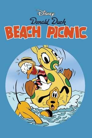 Poster: Picknick am Strand