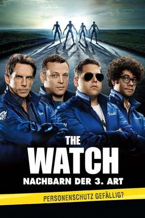 Poster: The Watch - Nachbarn der 3. Art