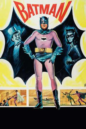 Poster: Batman hält die Welt in Atem