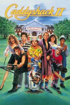 Poster: Caddyshack II
