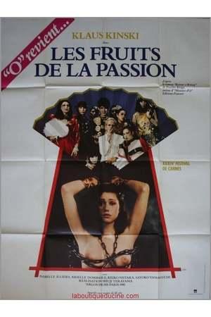 Poster: Die Früchte der Leidenschaft