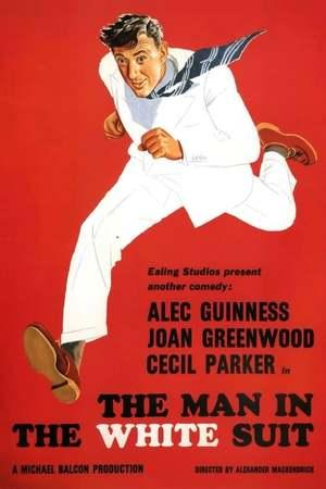 Poster: Der Mann im weißen Anzug
