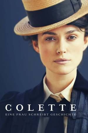 Poster: Colette - Eine Frau schreibt Geschichte