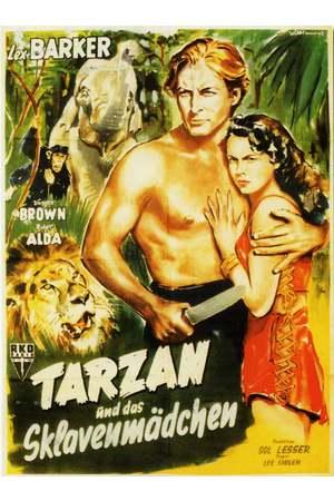 Poster: Tarzan und das Sklavenmädchen