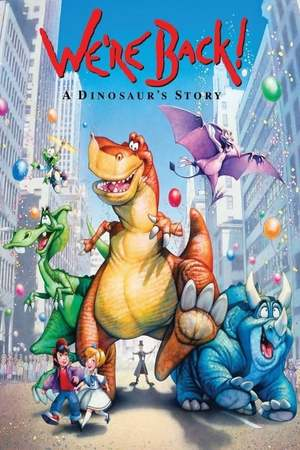 Poster: Vier Dinos in New York