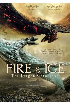 Poster: Fire and Ice: The Dragon Chronicles