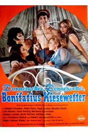 Poster: Donnerwetter! Donnerwetter! Bonifatius Kiesewetter