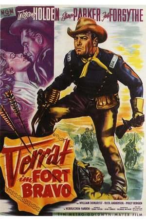 Poster: Verrat im Fort Bravo