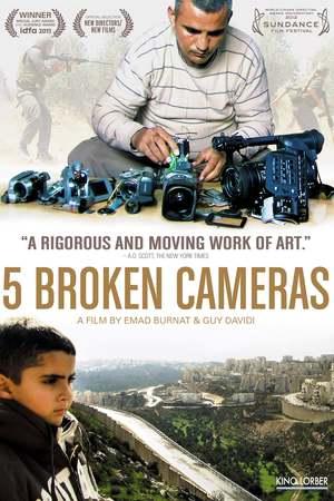 Poster: Five Broken Cameras